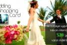 Düğün Alışveriş Kartı ile İndirimler Kazanın…Wedding Shopping Card