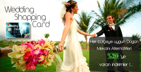 Wedding Shopping Card